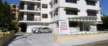 Secure Manly Waters Private Hospital parking