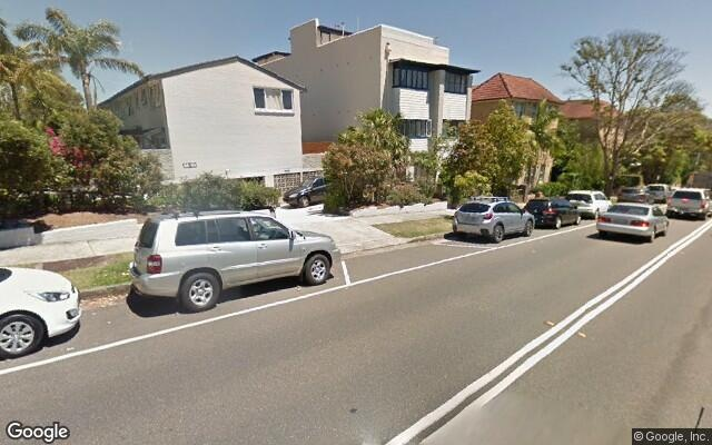 parking on Darley Road in Manly