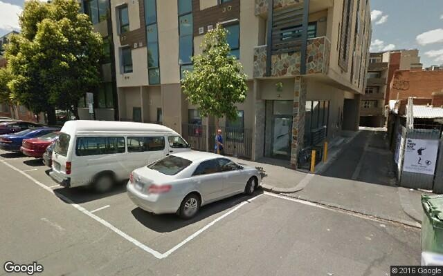 parking on Oconnell Street in North Melbourne