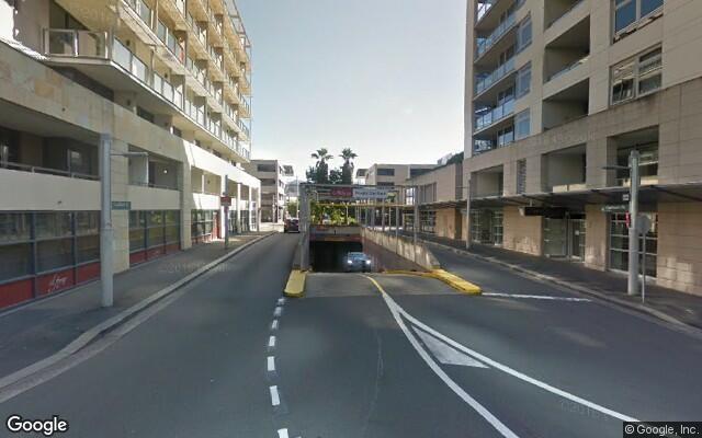 parking on Shelley Street in Sydney