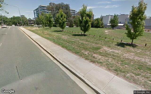 parking on Dooring Street in Dickson ACT