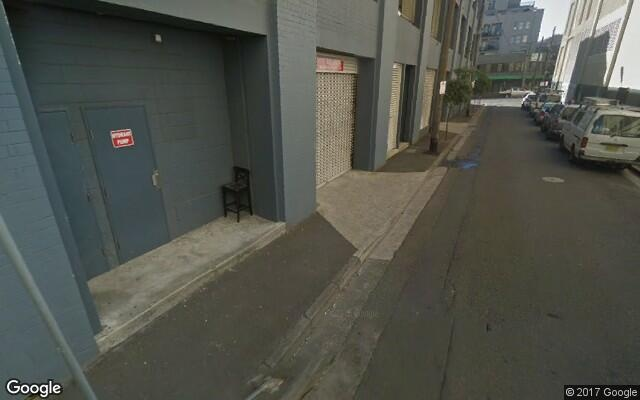 parking on Bay Street in Glebe
