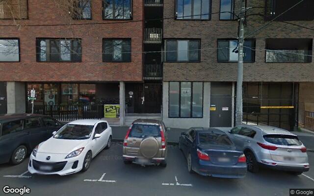 parking on Peel Street in Collingwood VIC