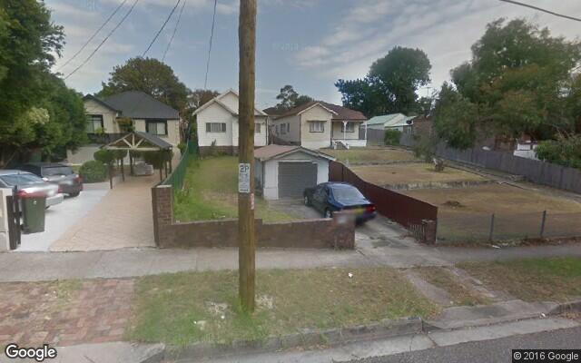 parking on Warialda Street in Kogarah