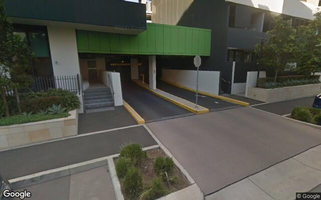 parking on Walker Street in Rhodes NSW