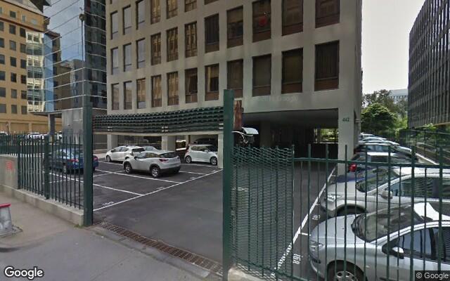 parking on St Kilda Road in Melbourne VIC