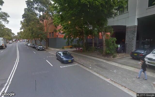 parking on O'Dea Avenue in Zetland