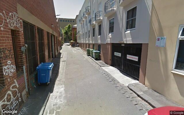 parking on Grattan Street in Carlton VIC