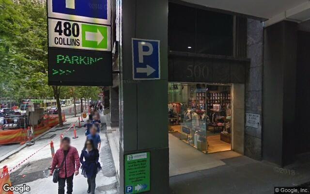parking on 480 Collins St Melbourne VIC 3000