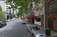 parking on A'Beckett Street in Melbourne VIC