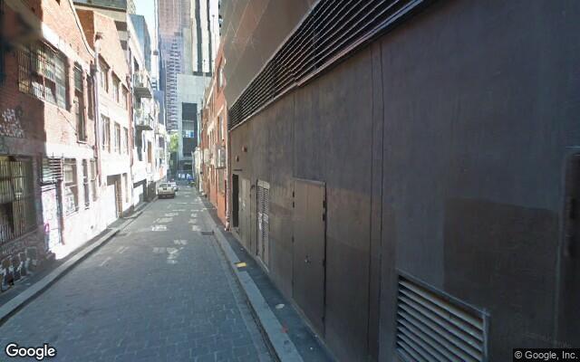 parking on Abeckett st in Melbourne