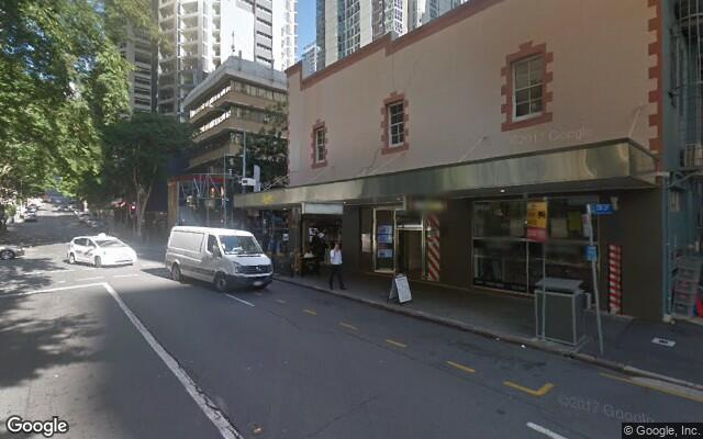 parking on Albert Street in Brisbane City QLD