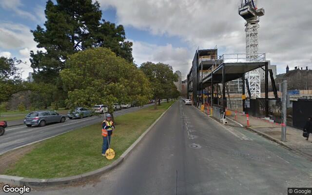 parking on Albert Street in East Melbourne VIC