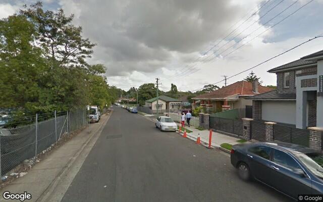 parking on Allen Street in North Strathfield