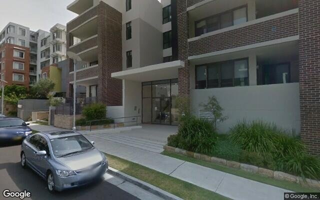 parking on Amalfi Drive in Wentworth Point