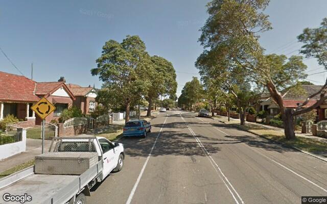 parking on Arthur Street in Croydon NSW