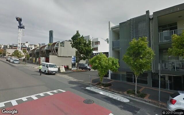 parking on Arthur Street in Fortitude Valley