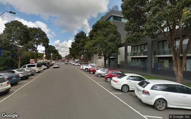 parking on Bank Street in South Melbourne VIC