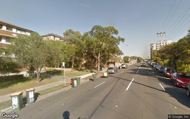 parking on Bay Street in Rockdale NSW