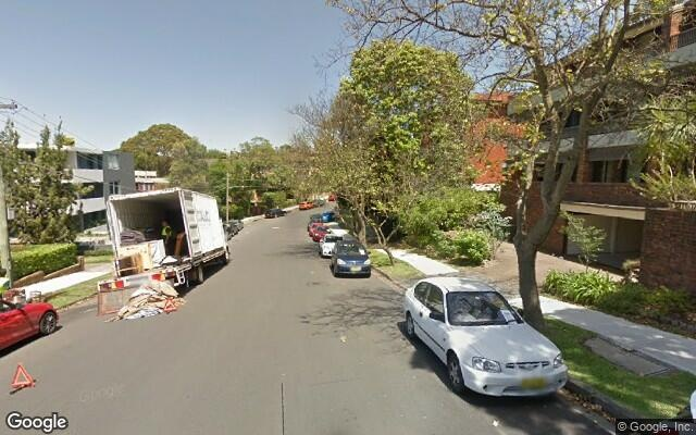 parking on Belmont Avenue in Wollstonecraft
