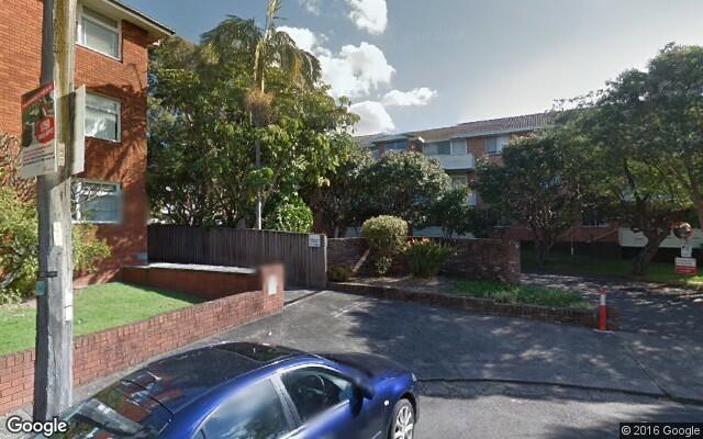 parking on Benalla Avenue in Ashfield