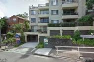 parking on Bent Street in North Sydney