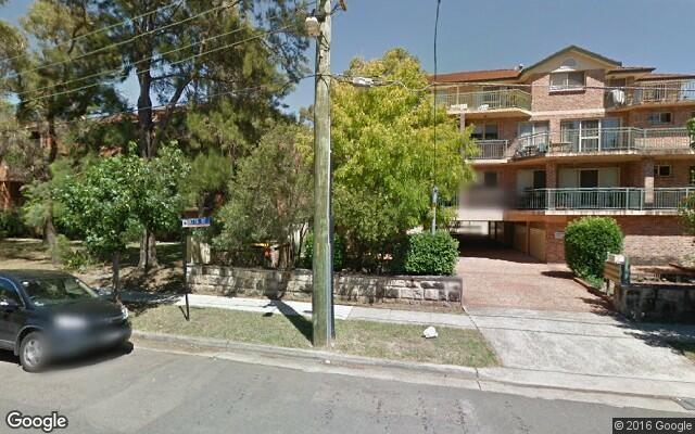 parking on Betts St in Parramatta