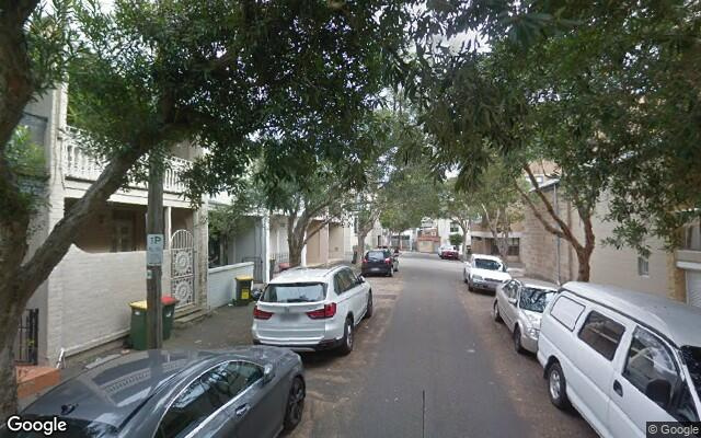 parking on Bloomfield Street in Surry Hills NSW
