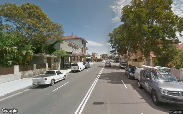 parking on Bondi Road in Bondi