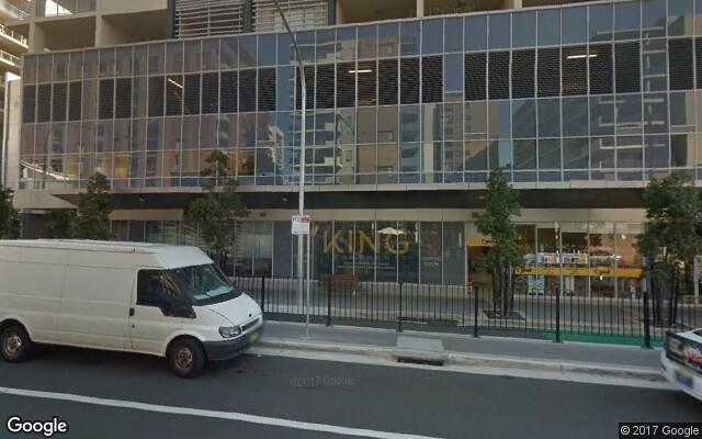parking on Bourke Street in Mascot