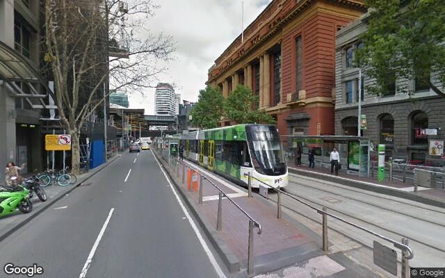 parking on Bourke Street in Melbourne VIC