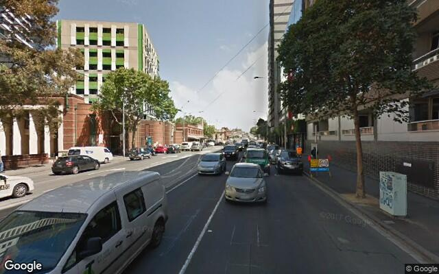 parking on Bouverie St in Carlton VIC 3053
