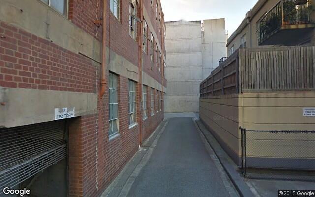 parking on Bouverie Street in Carlton