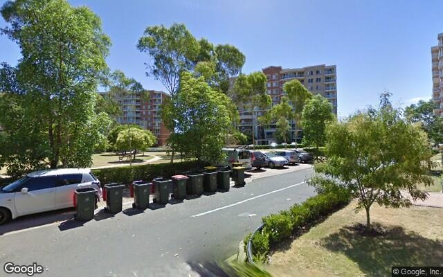 parking on Bradley Pl in Liberty Grove NSW 2138