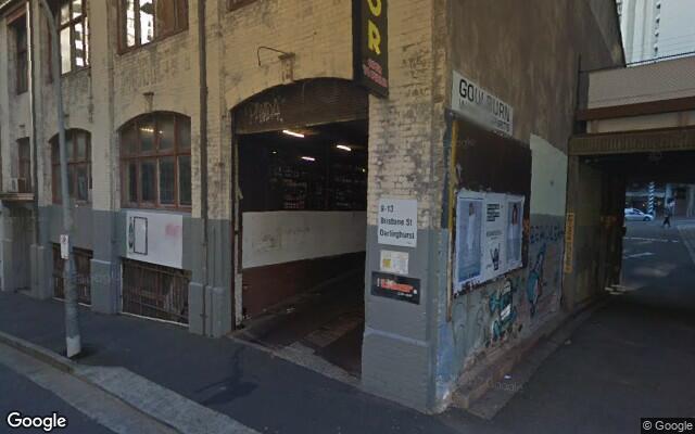 parking on Brisbane St in Surry Hills NSW 2010