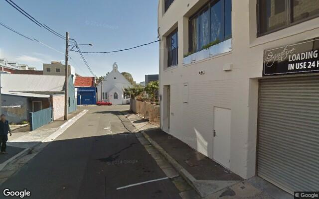 parking on Brodrick Street in Camperdown NSW