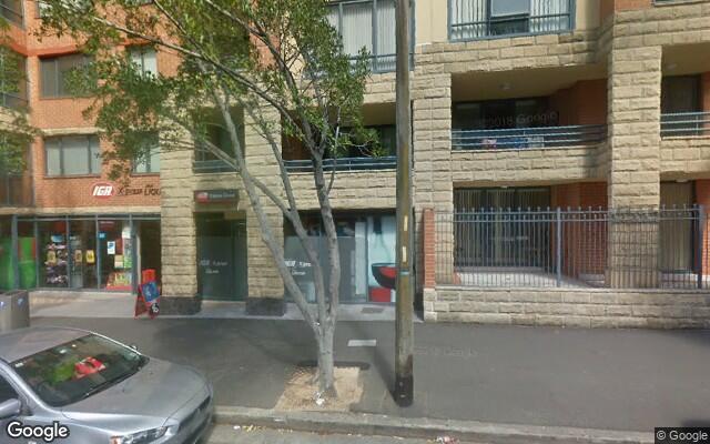parking on Bunn Street in Pyrmont NSW