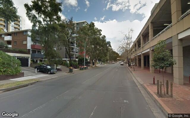 parking on Campbell Street in Parramatta NSW