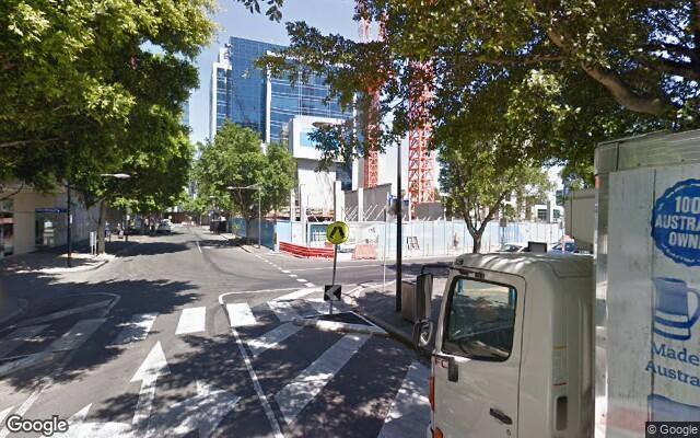 parking on Caravel Lane in Docklands