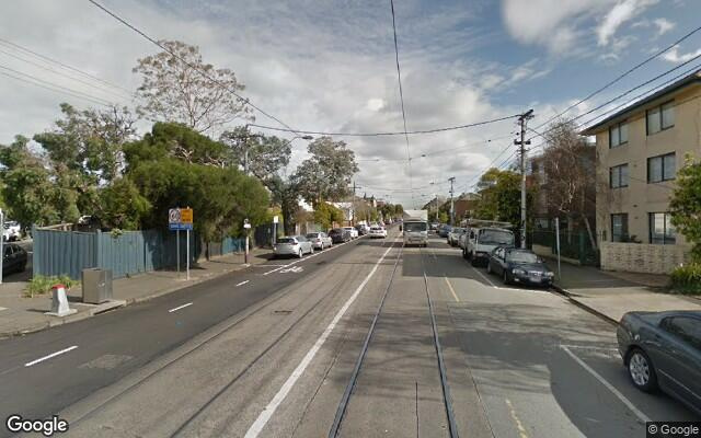 parking on Carlisle Street in Saint Kilda Victoria