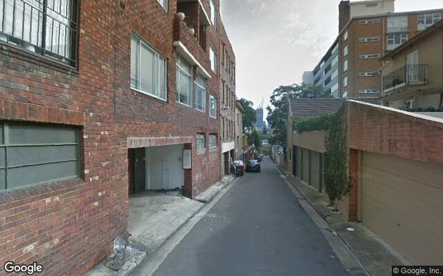 parking on Challis Avenue in Potts Point