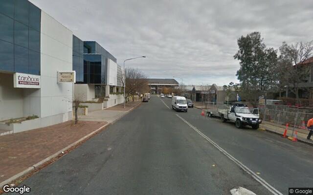 parking on Chandler Street in Belconnen ACT