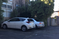 parking on Chapman Street in North Melbourne VIC