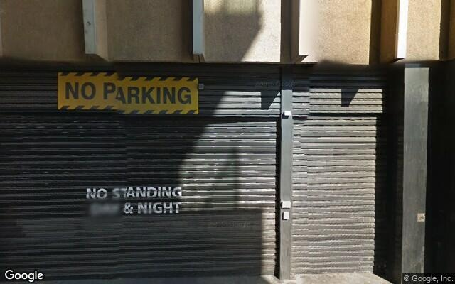 parking on Charles Street in Adelaide SA