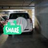 Undercover parking on Church Street in Parramatta NSW