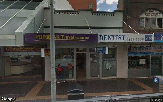 parking on Church Street in Parramatta NSW