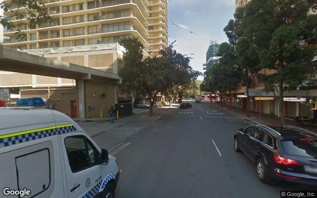 parking on Churchill Avenue in Strathfield