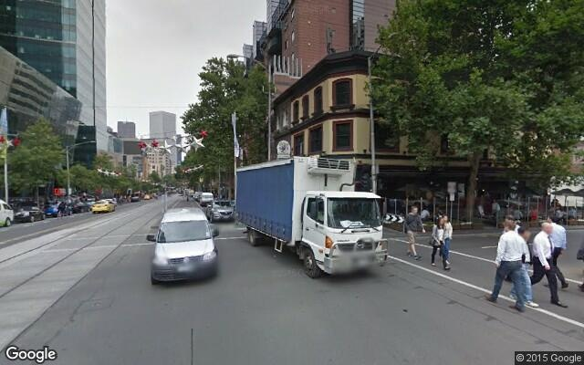 parking on Cnr Bourke and Exhibition ST in