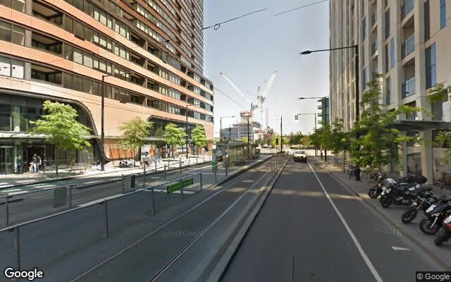 parking on Collins Street in Docklands VIC