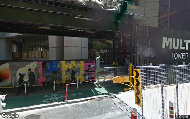parking on Collins Street in Melbourne VIC